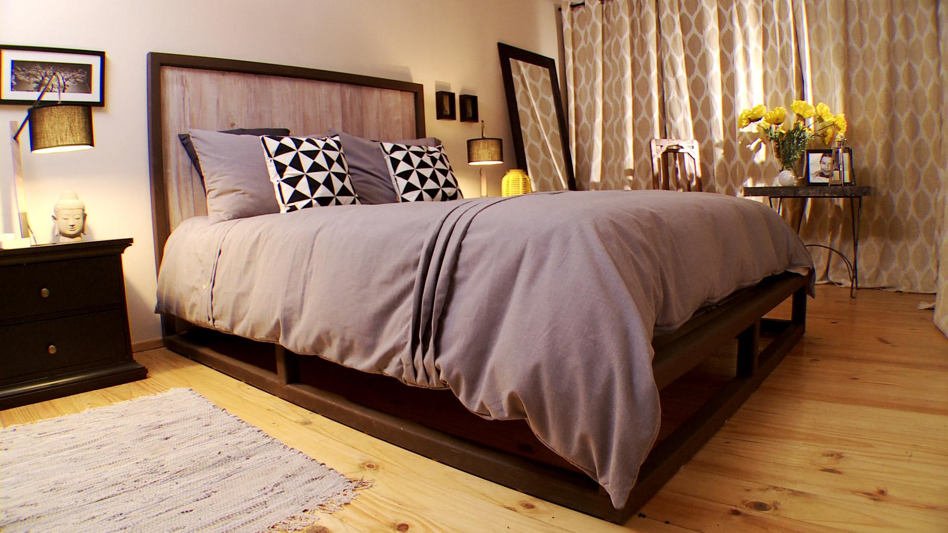 H galo usted mismo c mo hacer una cama de acero for Cuanto miden las camas matrimoniales