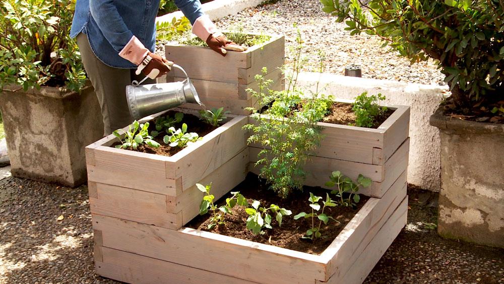 H galo usted mismo c mo hacer una huerta en 1 m2 - Como hacer un huerto en el jardin ...