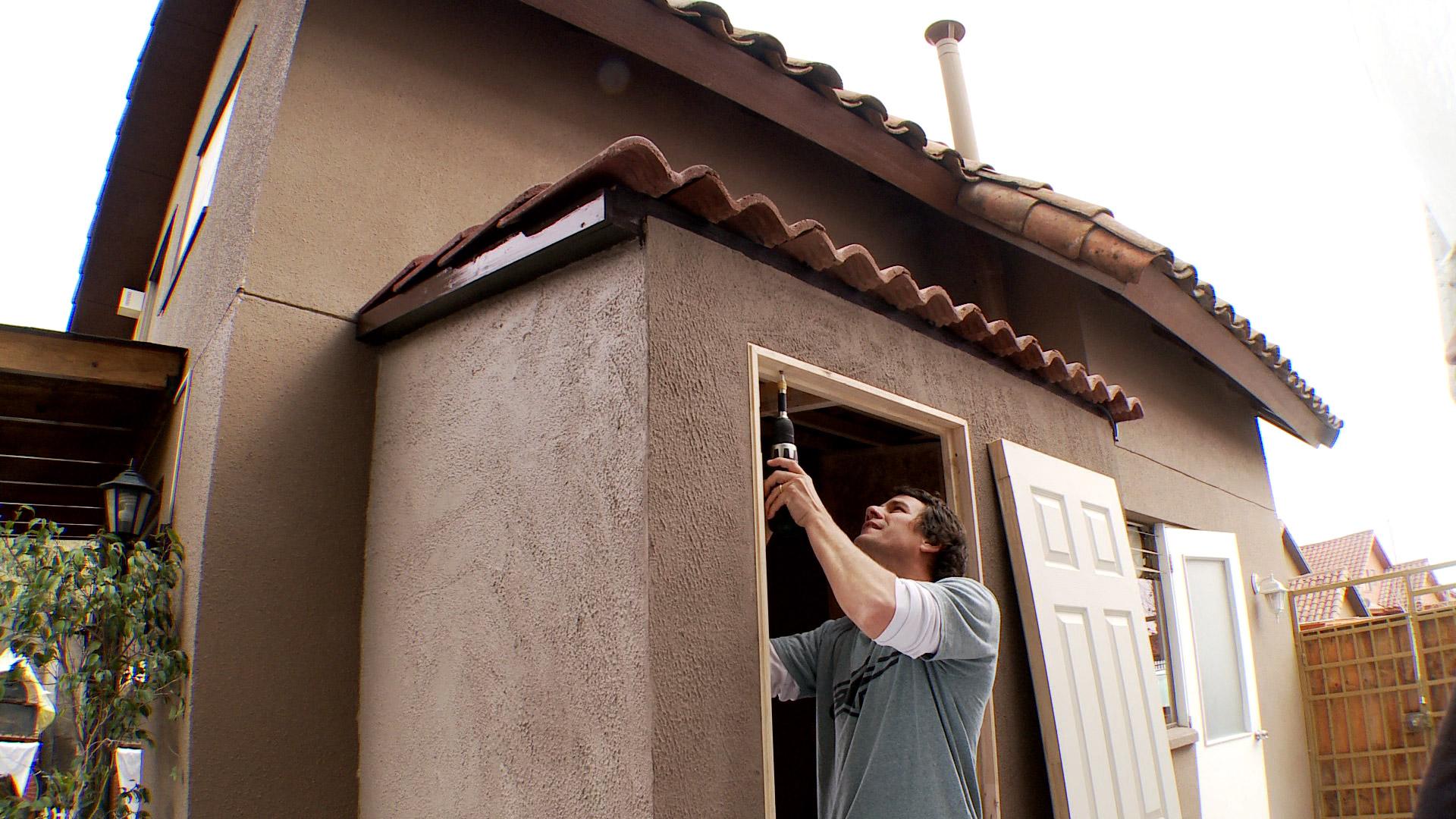 H galo usted mismo c mo hacer una logia exterior for Ideas para hacer un techo en el patio