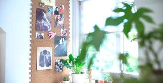 Práctica como elemento de decoración y también como un diario mural en donde pegar tus recordatorios y notas, esta pared de corcho es muy fácil de hacer.  ¡Solo sigue los paso a paso atentamente y estarás listo!