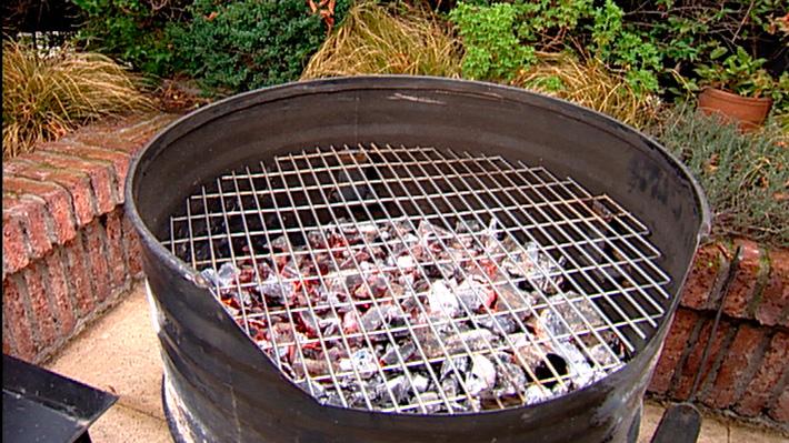 H galo usted mismo c mo hacer una parrilla horno - Como hacer una parrilla para barbacoa ...