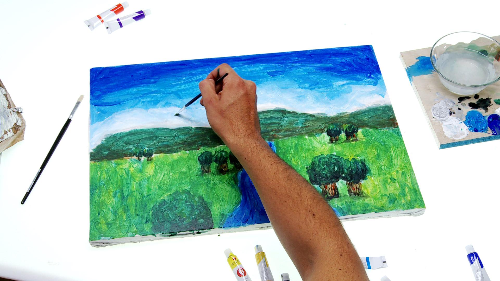 En este proyecto enseñaremos a hacer un cuadro desde el bastidor hasta la pintura final, se trata de enseñar ciertas técnicas para poder dibujar y pintar.