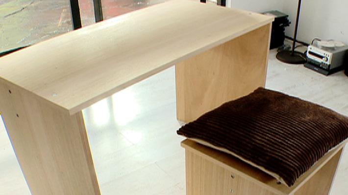H galo usted mismo c mo hacer un escritorio for Como hacer una cajonera de madera paso a paso pdf