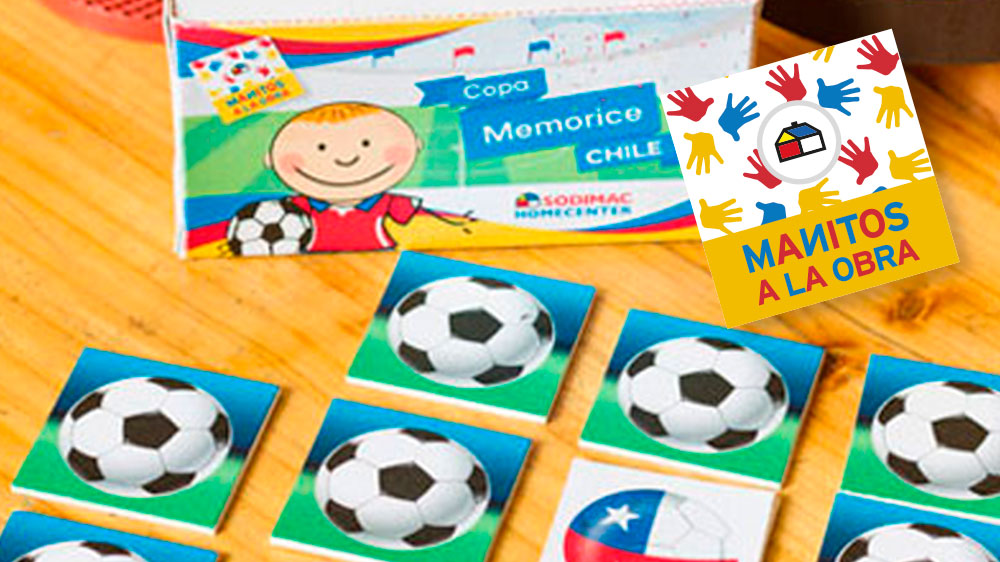 Si te gusta el fútbol y los desafíos, este juego es para ti, pon a prueba tu memoria con este simpático Memorice con imágenes de la Copa América. Sólo debes cortar y doblar con cuidado, para que los cubos te queden perfectos. Invita a tus amigos a jugar y diviértete en grande.