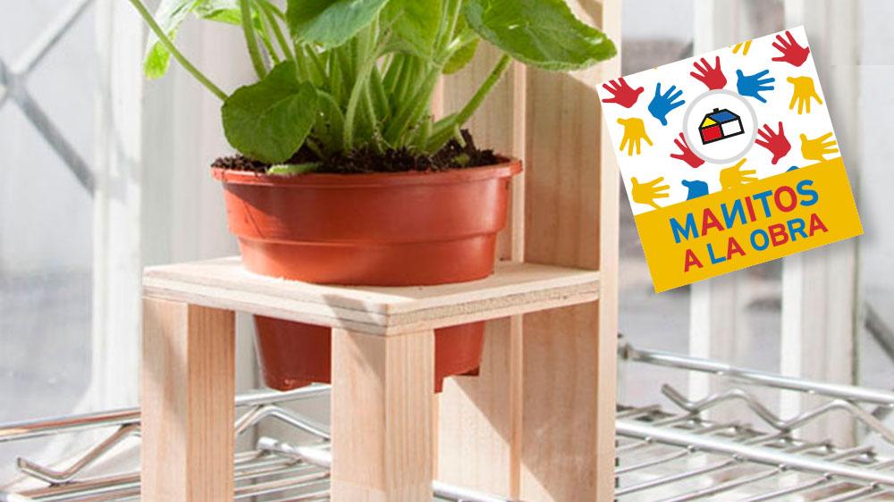 Para los amantes de las plantas este proyecto es ideal, ya que te permitirá lucir tu planta favorita; lo único importante es que reciba la luz y el agua suficientes para que crezca fuerte y sana. Recuerda que a las plantas les encanta que les hablen y que les pongan música.