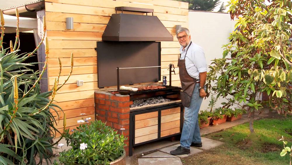 H galo usted mismo c mo hacer un quincho con cubierta for Como decorar el patio de la casa