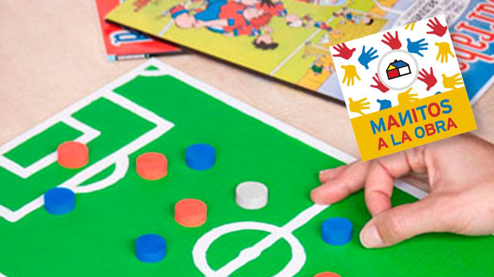 Para los fanáticos del fútbol este es un proyecto ideal, ya que les permitirá jugar los más emocionantes partidos en casa, junto a sus mejores amigos. La clave estará en personalizar las fichas con los colores de su club favorito y los nombres de los jugadores que más les gustan.