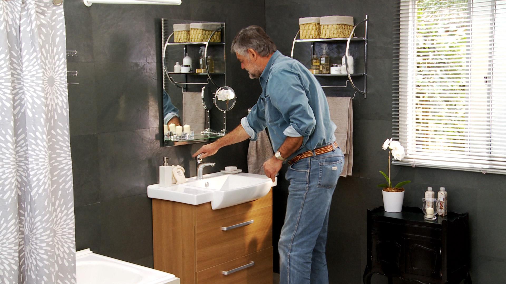 H galo usted mismo c mo instalar el wc y vanitorio for Llaves para lavamanos sodimac