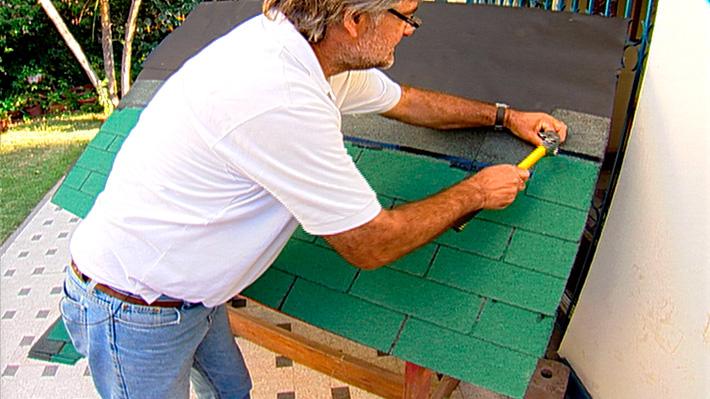 H galo usted mismo c mo instalar tejas asf lticas for Como aislar el techo de un piso