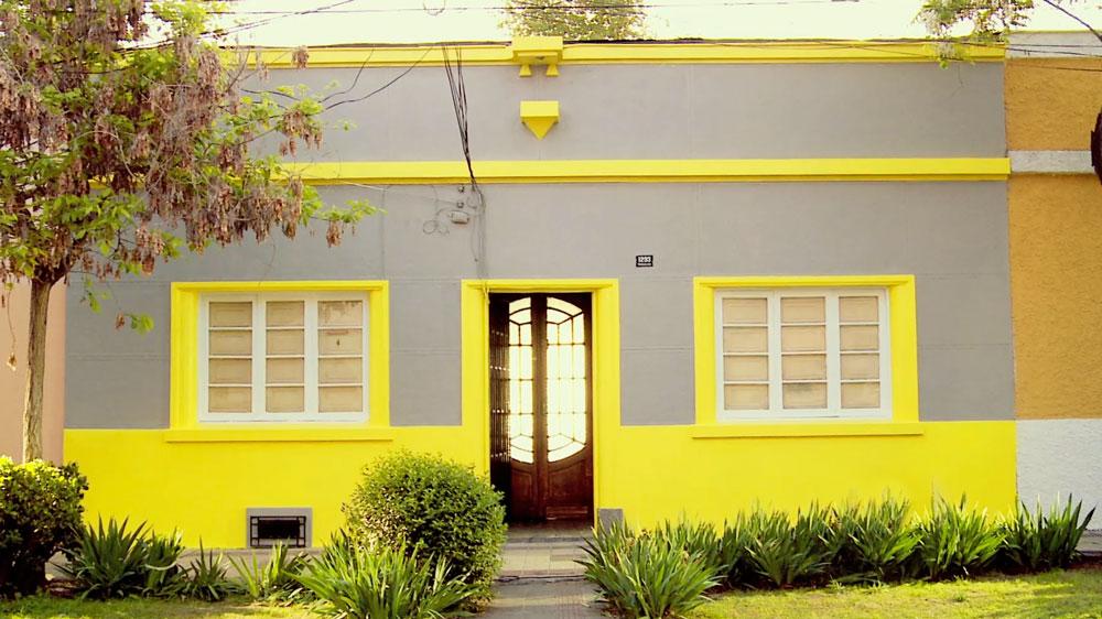 H galo usted mismo c mo pintar una fachada de zinc - Que color puedo pintar mi casa ...