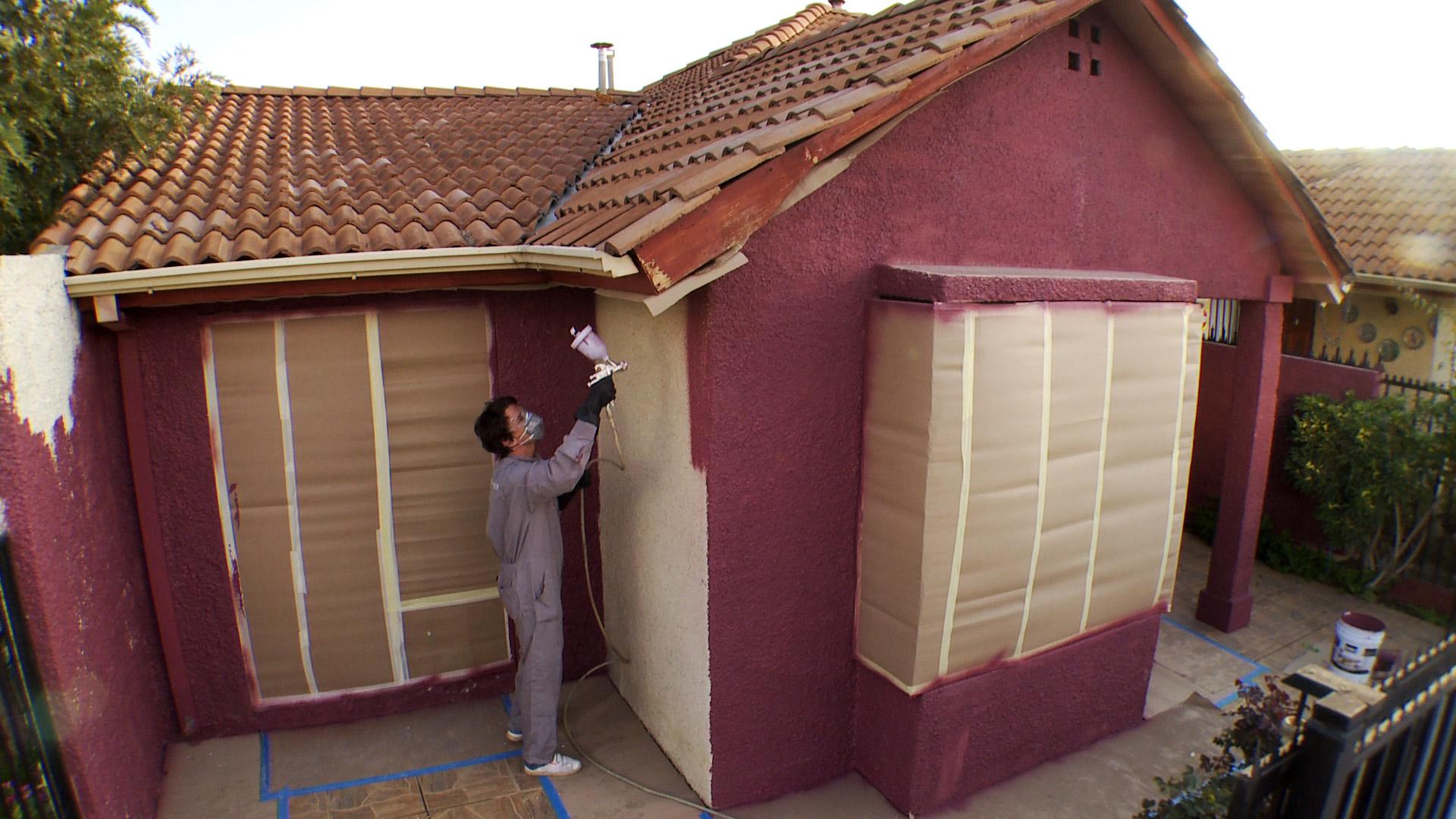 Hágalo Usted Mismo - ¿Cómo pintar una fachada de martelina?