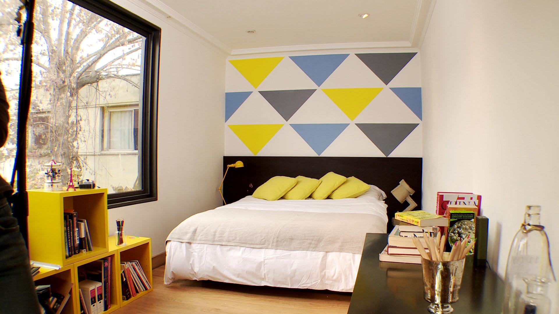 H galo Usted Mismo C mo pintar un muro con figuras geom tricas