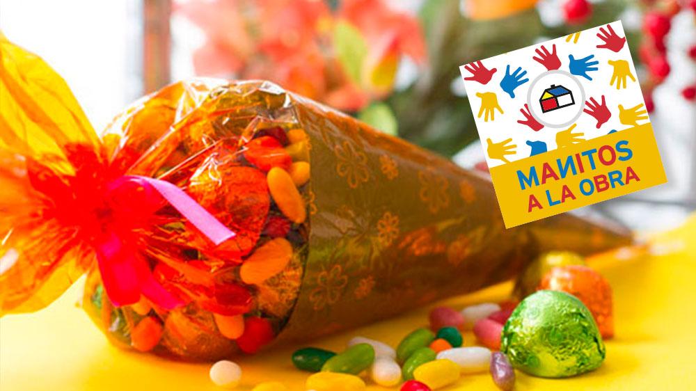 Si quieres organizar una pequeña fiesta con tus amigos y amigas, los globos y los dulces son fundamentales; pero para que tenga aún más estilo, pon los dulces en unos originales cucuruchos y haz con los globos simpáticas y originales figuras, para jugar e incluso disfrazarse. ¡A divertirse!
