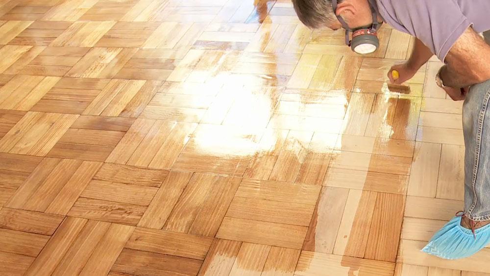 H galo usted mismo c mo pulir y vitrificar un piso de - Como quitar manchas del piso de ceramica ...
