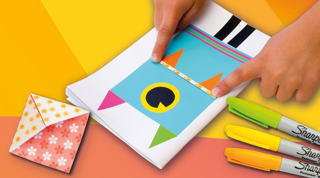 En este taller vamos a aprender trucos muy fáciles para personalizar una libreta con colores, dibujos y mucho más. Sigue estos sencillos y divertidos pasos y ¡disfruta el resultado!