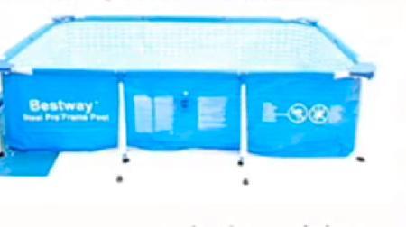 Reg strate for Piscina rigida rectangular