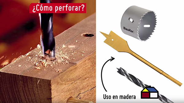 El taladro no sólo se usa en construcción, también puede sacarnos de apuros en casa ya sea para colgar un cuadro, reparar un mueble o pulir una pieza metálica, lo importante es elegir el accesorio adecuado.