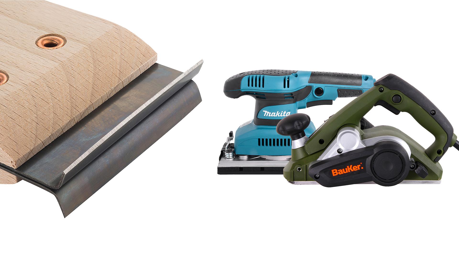 Cuando la madera se daña por la humedad o los rayos del sol se puede reparar, esto consiste en raspar la proteccion antigua y la capa deteriorada, para volver a aplicar un nuevo barniz, pintura o impregnante.